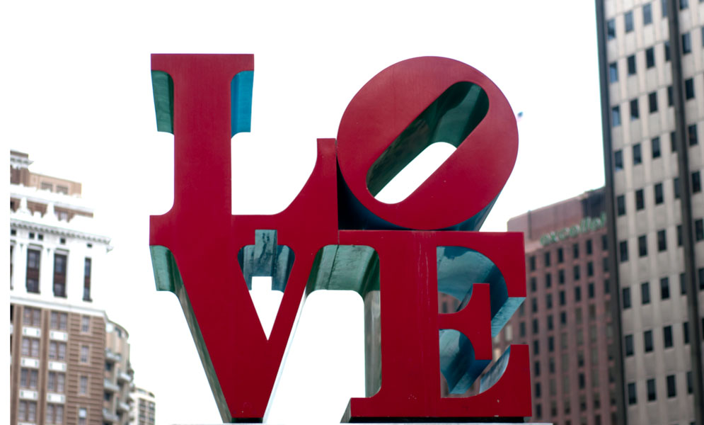 Philly Love Sign